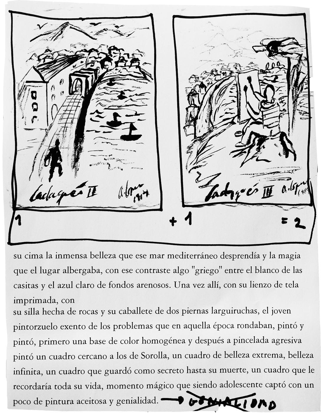OBALLOU O.BALLOU CADAQUÉS 1914 SALVADOR DALI